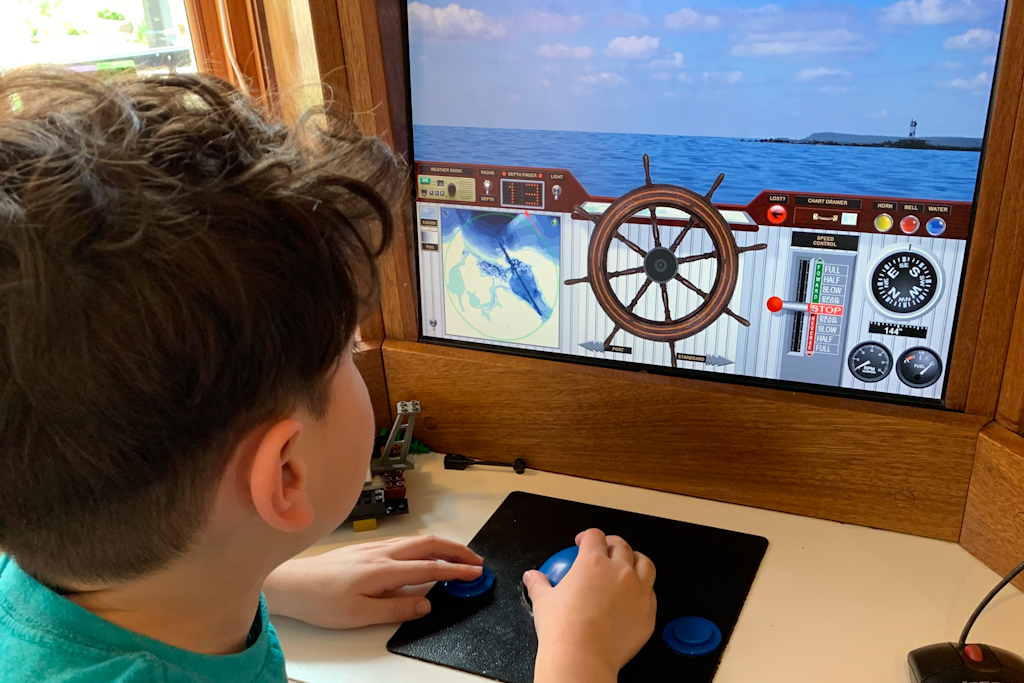 Harbor Wheelhouse Simulation