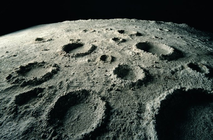 Moon Crater Image
