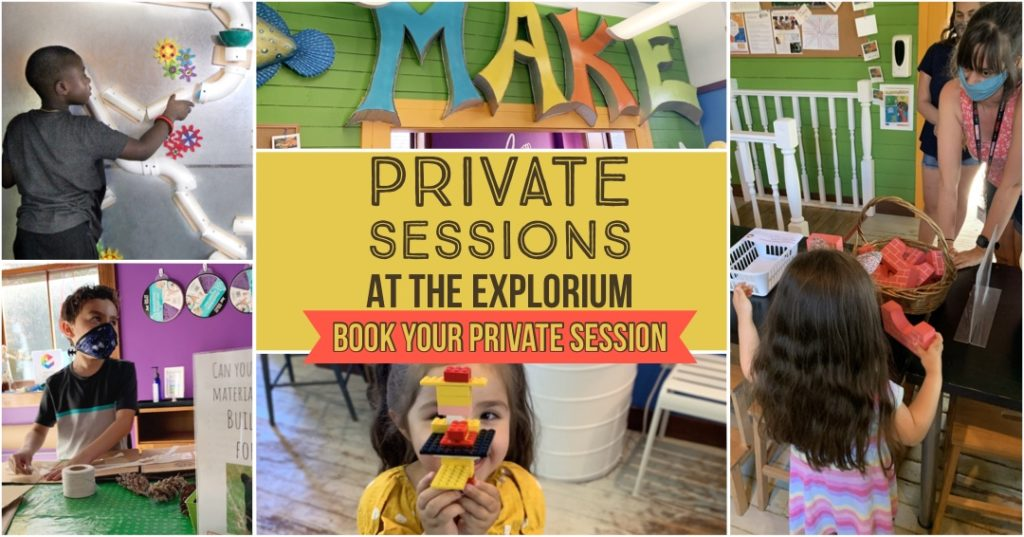 Private Sessions at the Explorium icon