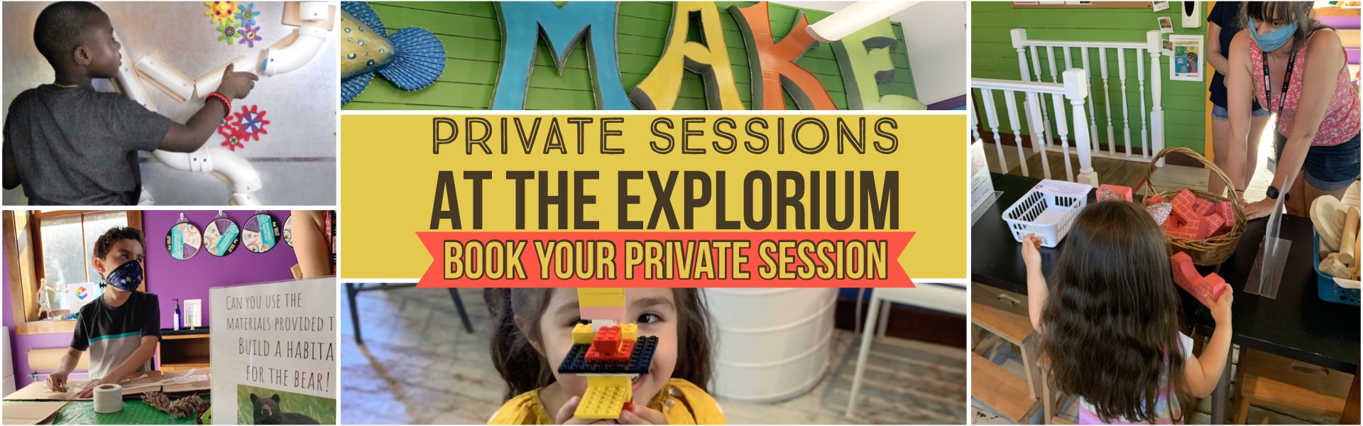 Private Play at the Long Island Explorium