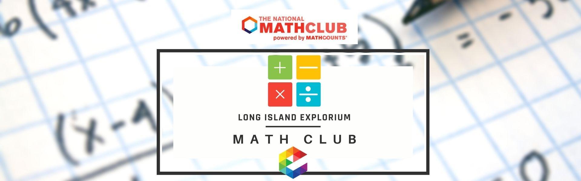 Sliders Event Math Club Logo