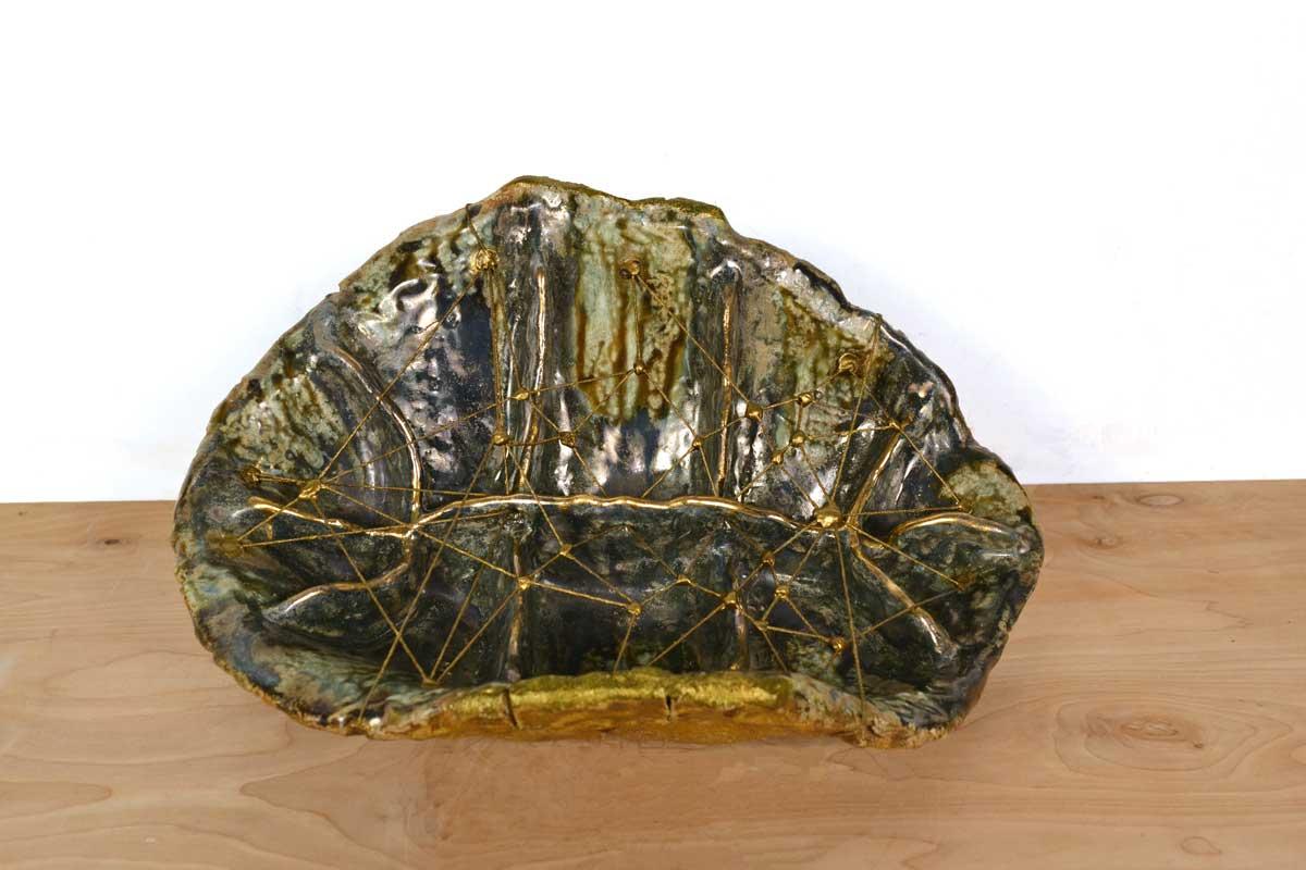 Rachel_Frank_Turtle_Shell_Offering_Vessel_Matrix_Green_Blue_Gold
