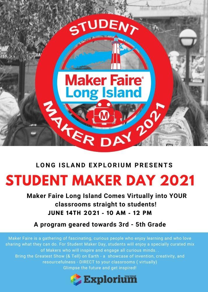 Flyer Student Maker Day 2021