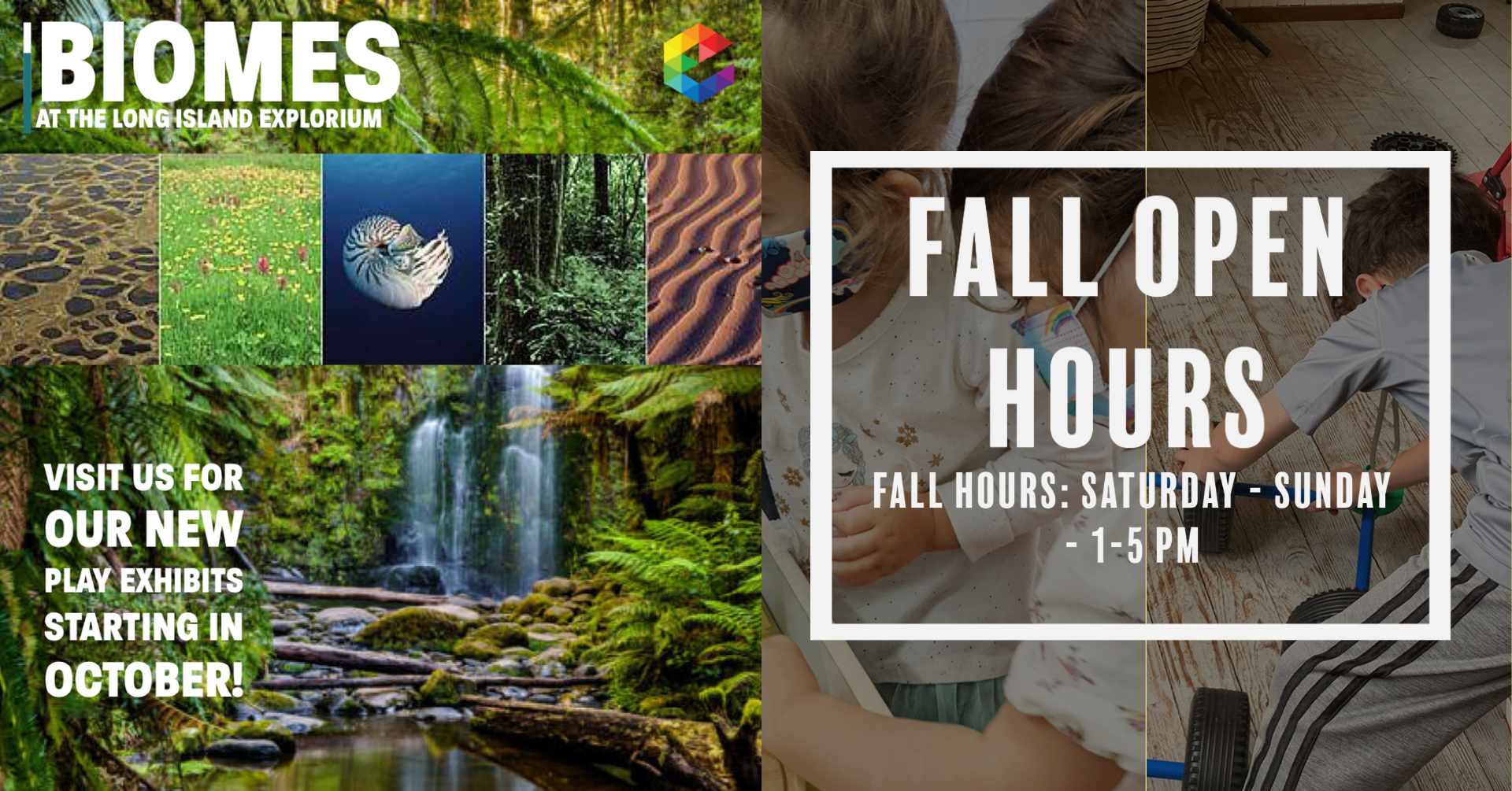 October Fall Open Hours