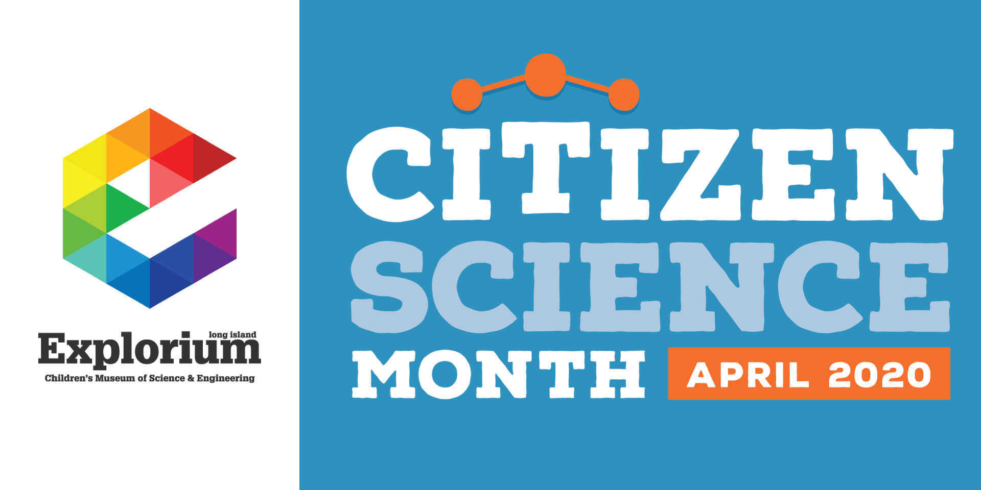 Banner for citizen science month